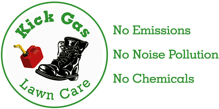 Kick Gas Lawn Care - Mississauga lawn care services with no emissions, no noise pollution and no chemicals