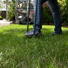 Kick Gas Lawn Care provides environmentally friendly lawn care and core aeration services throughout Mississauga and the Greater Toronto Area.