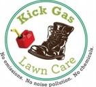 Kickgas Lawn care Logo